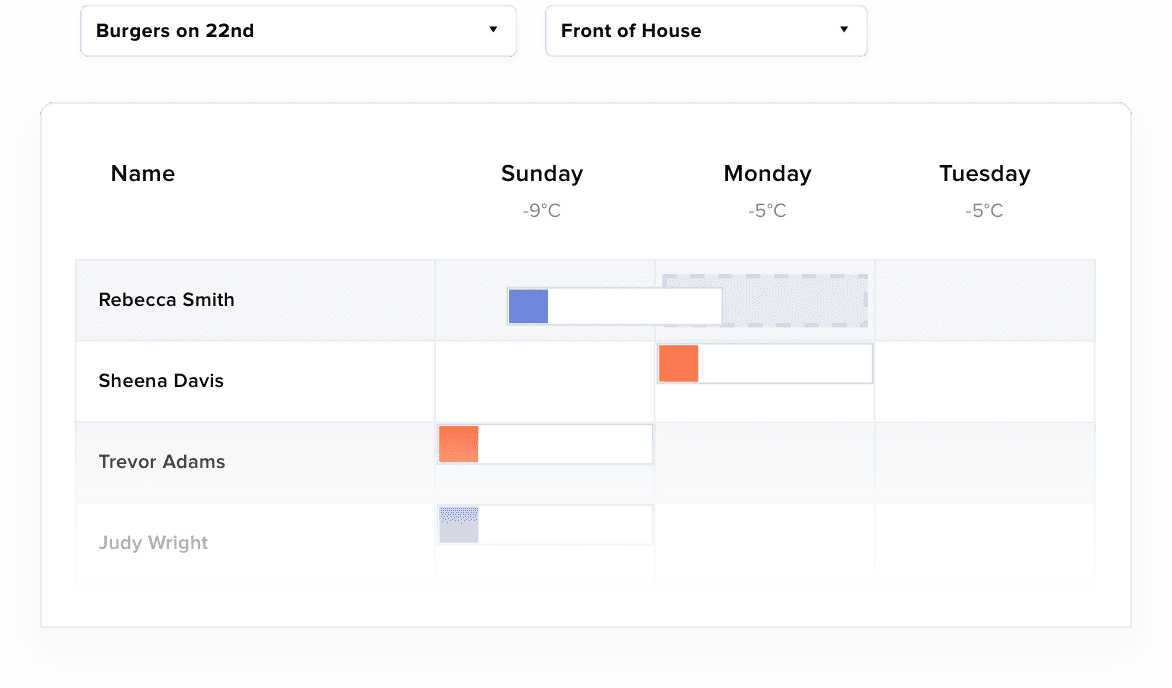 7shifts feature Flexible scheduling