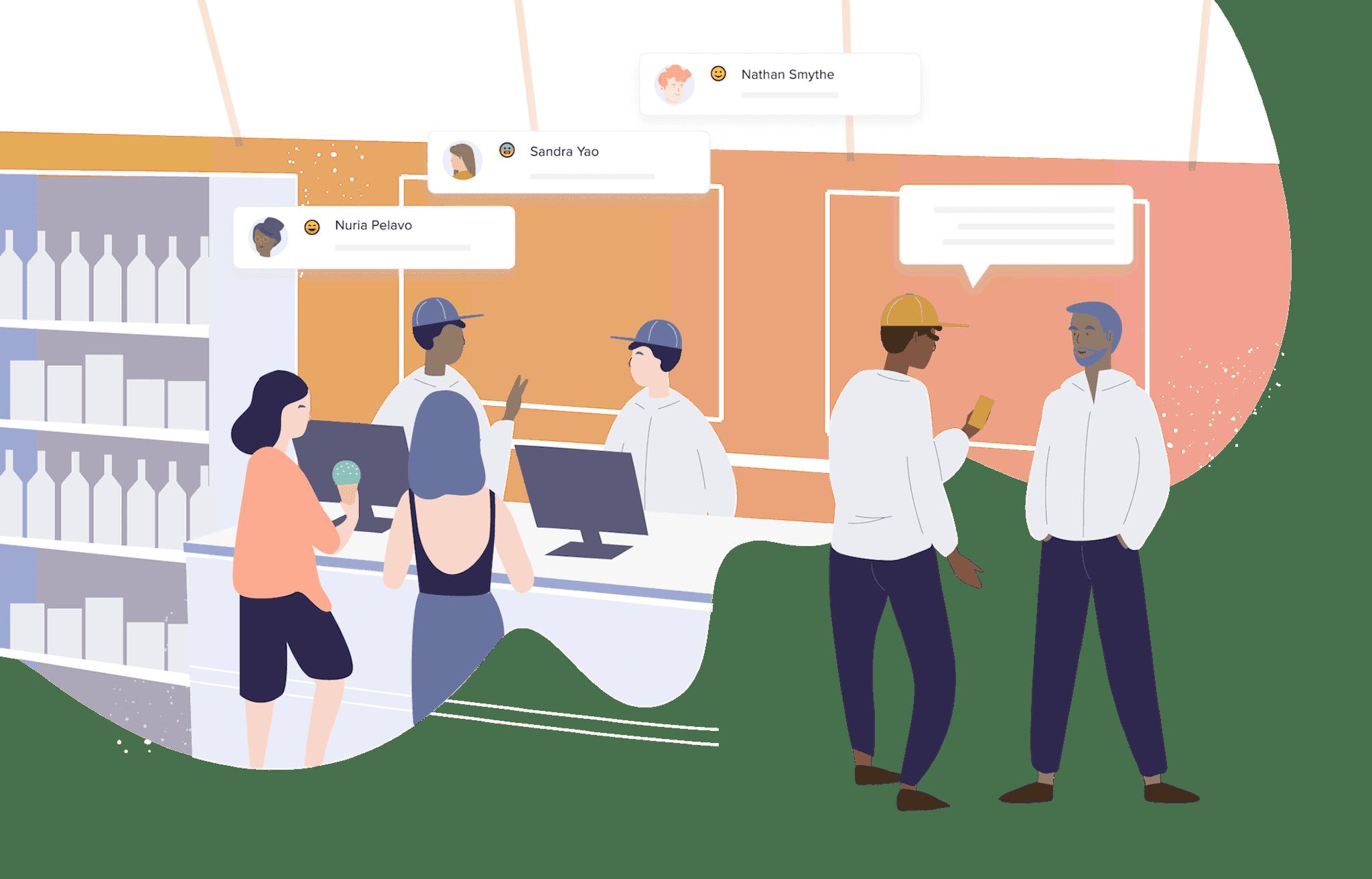 Employee Engagement Illustration