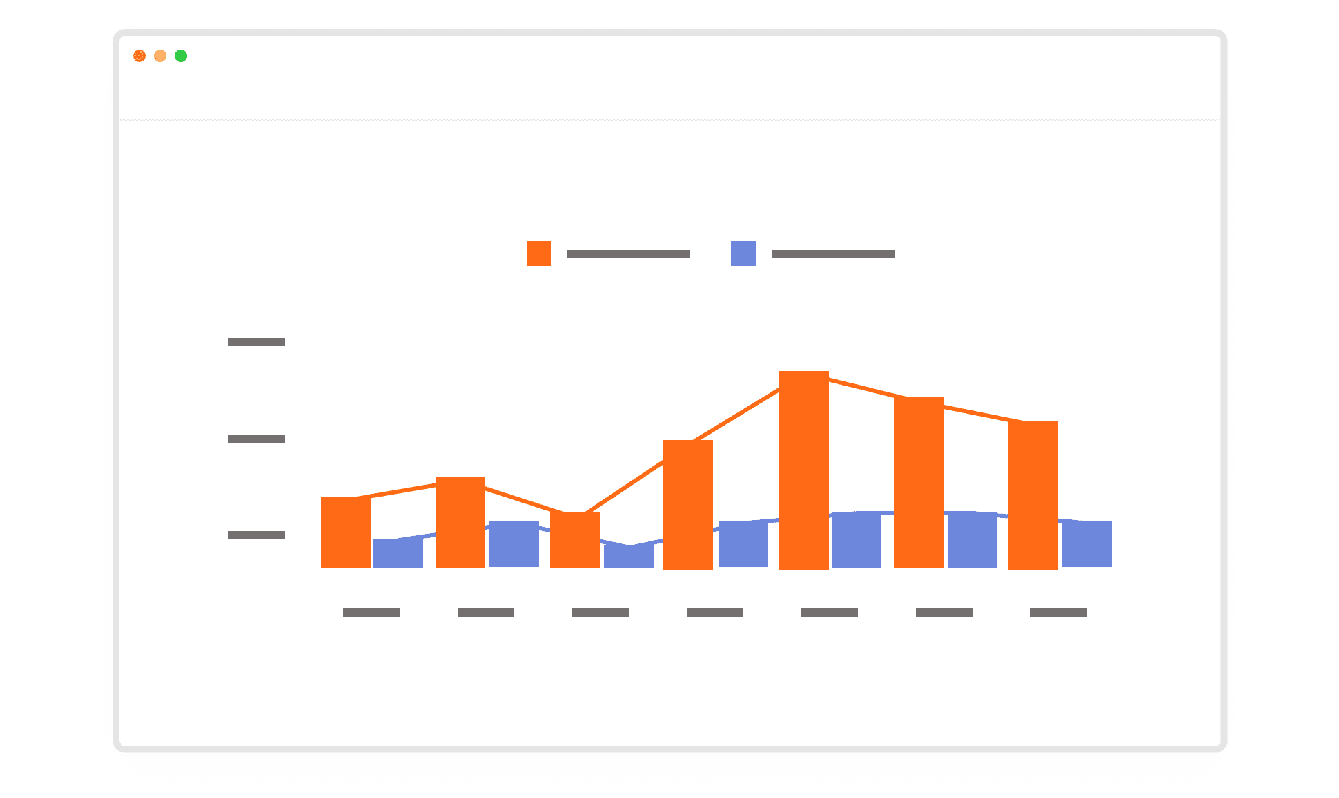 spreadsheet graph illustration