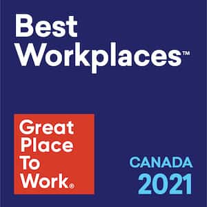 Great Place to Work Canada 2021
