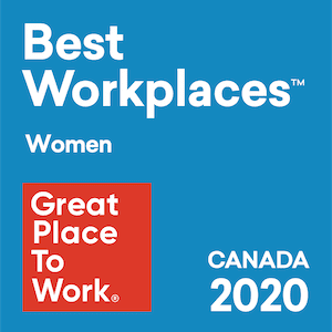 Great Place to Work Canada 2020