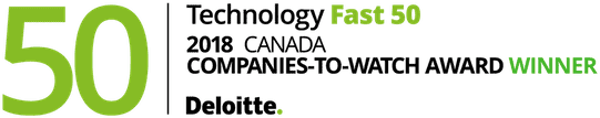 Technology Fast 50 2018 companies to watch award