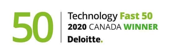 Technology Fast 50 2020 Canada Winner