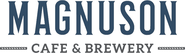 Magnuson Cafe and Brewery Logo