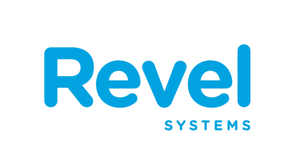 The logo for the Revel