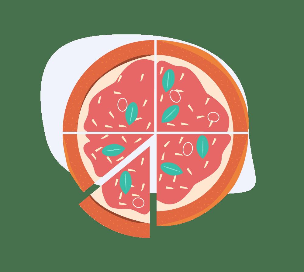 Pizza Graph image