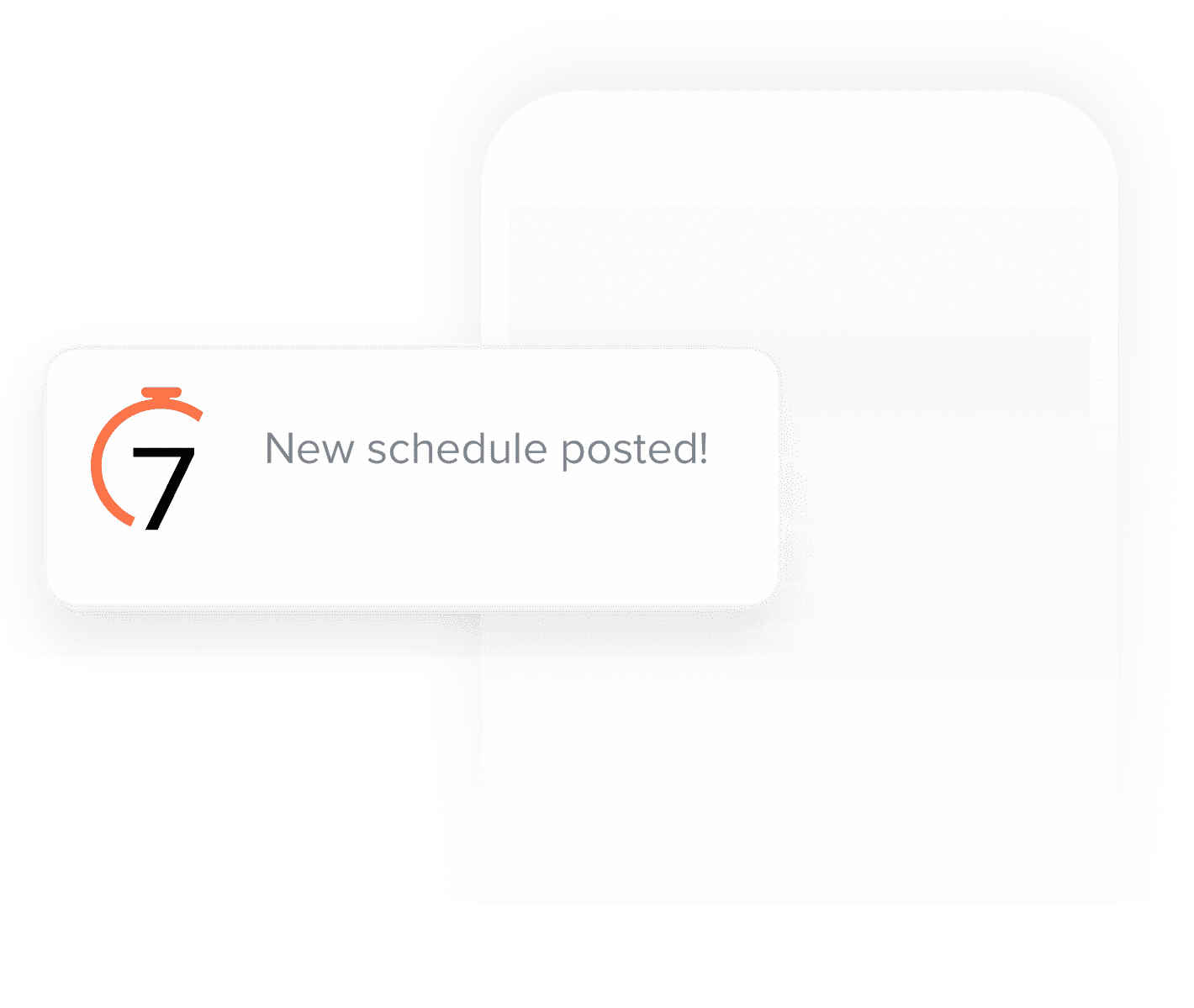 7shifts feature Electronic schedule publishing