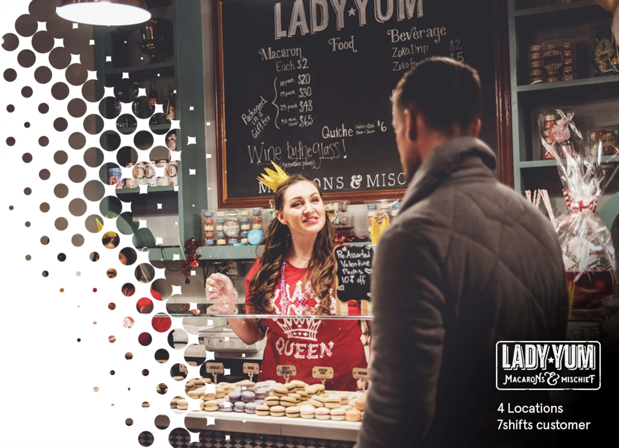 Lady Yum a 4 location 7shifts client restaurant image