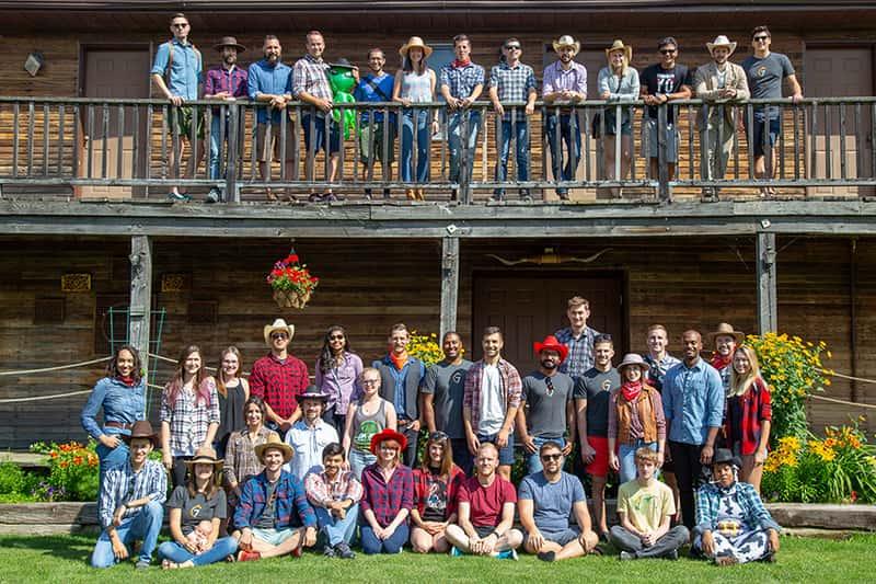 7shifts 2018 staff retreat