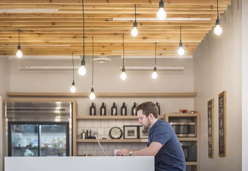 7shifts 2018 office kitchen