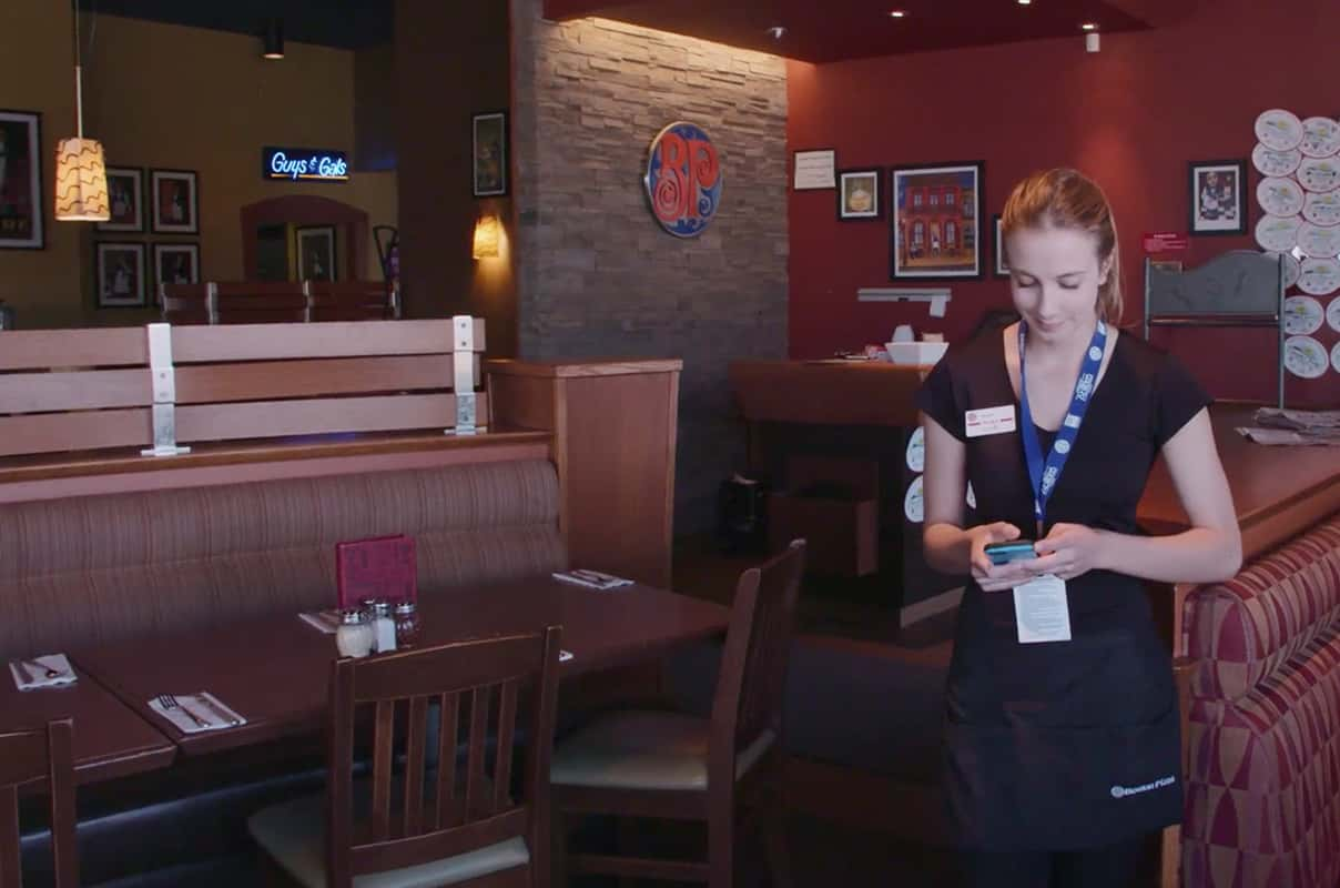 Boston Pizza video testimonial
