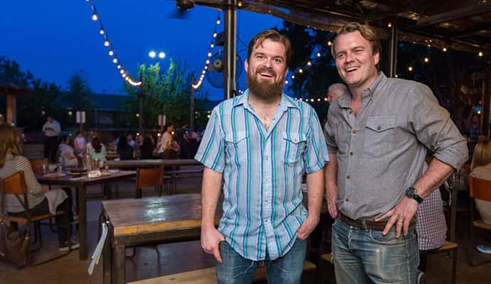 Co-founders Ben and Andrew from Edgewise Hospitality